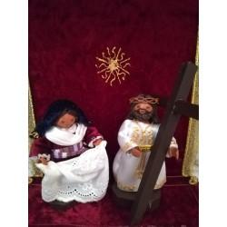 Cristo Abrazado a la Cruz y la Verónica