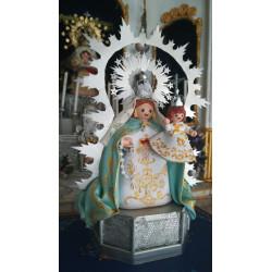 Virgen del Rosario patrona de las casas